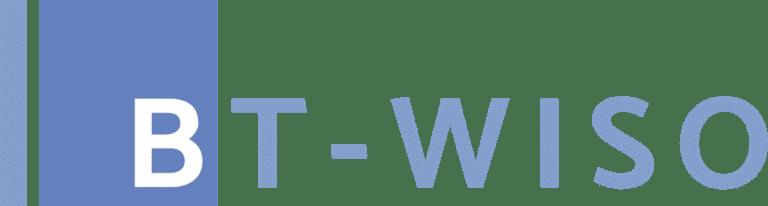 Wort-Bildmarke BT-WISO